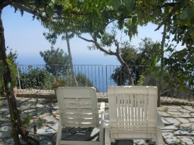 Amalfi coast villa for rent: Furore