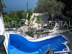 Villa ErikaVilla for rent Positano