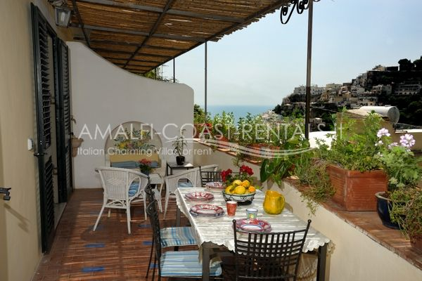 Villa GelsominoVilla for rent Positano