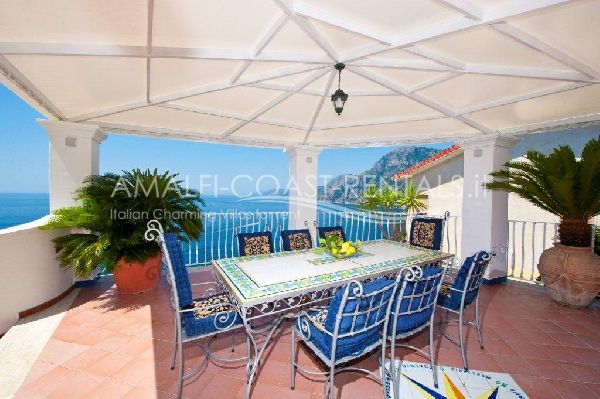 Villa Arzilla 1Villa for rent Positano